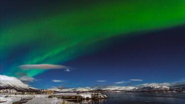 sarki fény svéd lapföld