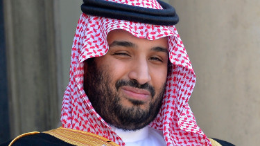 Saudi Prince and Saudi Minister of Defence Mohamed Bin Salman Bin Abdul Aziz Al Saoud