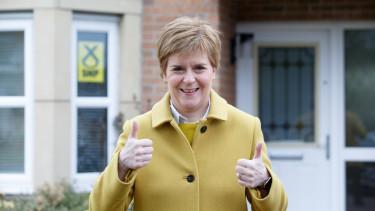 snp skót választás győzelem szupertöbbség