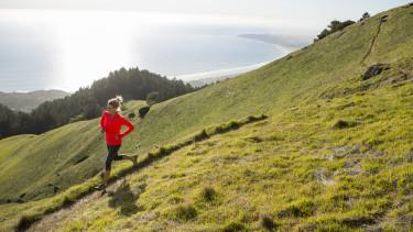 sport futás hegy természet