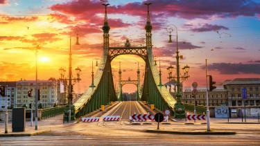 szabadsag hid budapest lezaras