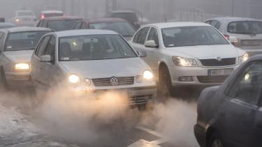 szálló por légszennyezettség