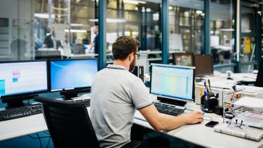 számítógép iroda munkahely