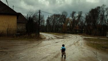 szegény falu magyar getty editorial