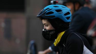 szennyezett levego london