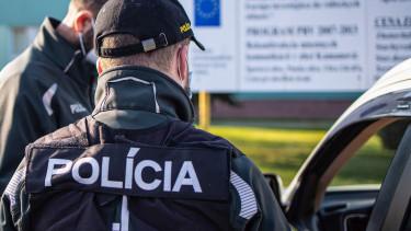 szlovák rendőrség