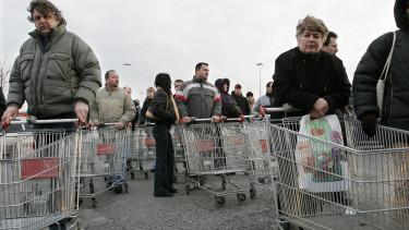 szlovakia kiskereskedelem aremelkedes