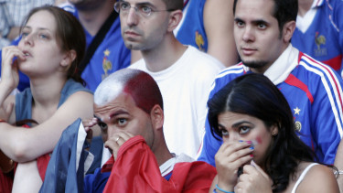 szomorú franciák