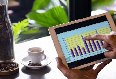tablet grafikon