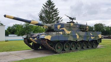 tank leopard honvédelmi minisztérium