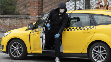 taxi koronavírus