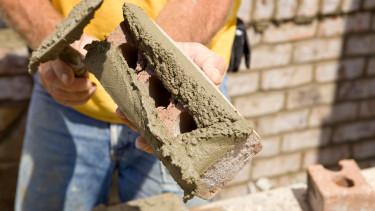 tégla beton építőipar