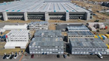tesla német gyár