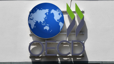 The logo of the OECD - Organisation for Economic Co-operation and Development