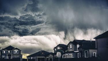 tornádó vihar lakások ingatlan