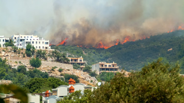 törökország erdőtűz bodrum
