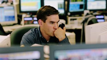 tőzsde bróker részvény getty stock