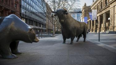 Tőzsde Bull Bika