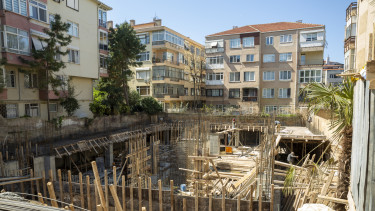 új lakás építés építkezés lakópark