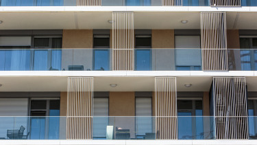 új lakások erkély