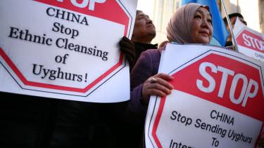 ujgur tüntetés