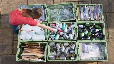 újrahasznosítás hulladék zöld világ