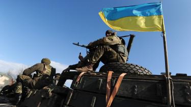 ukrán katonák