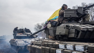 ukrán tankok