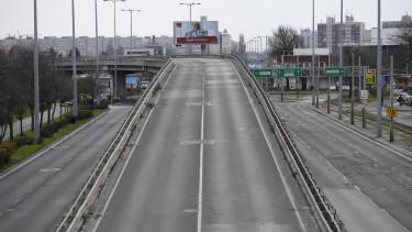 üres utca, felüljáró, határ út, út, budapest