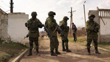urkajna orosz katonák