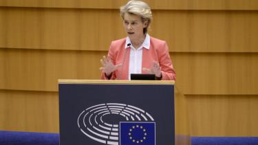 Ursula von der leyen beszed Europai Parlament210915
