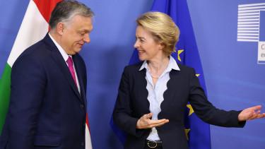 Ursula von der Leyen europai bizottsag Orban Viktor miniszterelnok brusszel 200408