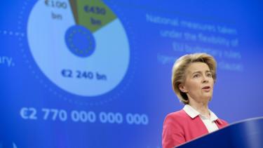 Ursula von der Leyen europai Bizottsag velemenycikk koronavirus valsagkezeles
