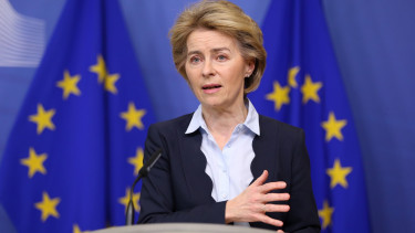 Ursula von der Leyen mentocsomag europai bizottsag europai unio