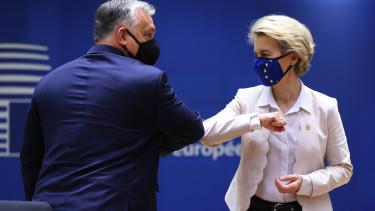 Ursula von der Leyen Orban Viktor jogallamisagi mechanizmus EP tamadas 210317