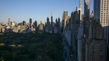 USA felhőkarcoló amerikai gazdaság