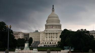 usa kongresszus vihar kormány parlament szenátus felhő sötétség amerika