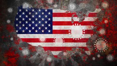 USA koronavírus Egyesült Államok Covid-19