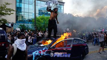 usa tüntetés