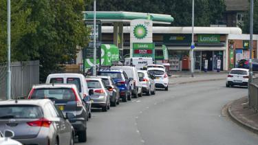 üzemanyag hiány benzinkút nagy-britannia