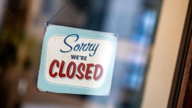 Üzletek zárva