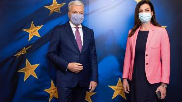 Varga Judit Didier Reynders Europai Ugyeszseg jogallamisag 210512