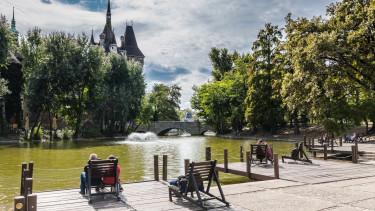 városliget, tó, vajdahunyad-vár