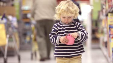 vásárlás bolt pénz gyerek kiskereskedelem