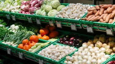 vásárlás infláció zöldség üzlet bolt