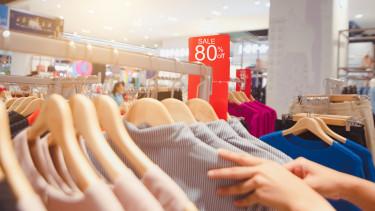 vásárlás ruha leértékelés akció