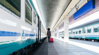 vasút vonat