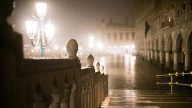 velence város üres karantén korona