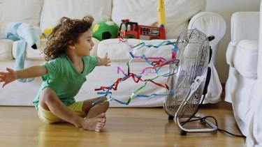 ventilátor meleg nyár
