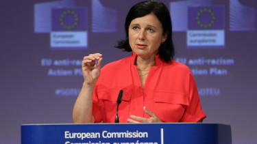 Vera Jourova europai bizottsag jogallamisag varga judit lemondas felszolitas